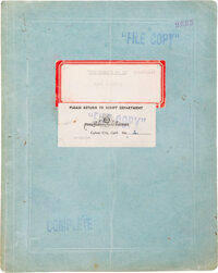 Historic 43-Page Noel Langley Treatment of The Wizard of Oz, Dated March 22, 1938 - Considered the Genesis for the... (T...