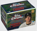 Baseball Cards:Sets, 2000 Topps Chrome Traded & Rookies Sealed Set (135).
