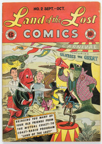 Land of the Lost Comics #2 (EC, 1946) Condition: FN