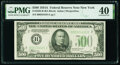 Fr. 2202-B $500 1934A Federal Reserve Note. PMG Extremely Fine 40