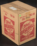 Baseball Cards:Unopened Packs/Display Boxes, 1986 Topps Baseball Unopened Case With Twenty 36-Count Wax Boxes! ...