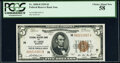 Fr. 1850-H $5 1929 Federal Reserve Bank Note. PCGS Choice About New 58
