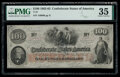 Confederate Notes:1862 Issues, T41 $100 1862 PF-25 Cr. 318A PMG Choice Very Fine 35.