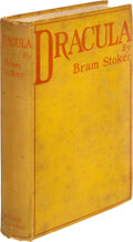 Books:Horror & Supernatural, Bram Stoker. Dracula. Westminster: Archibald Constable & Co., 1897. First edition, first issue, without ad to final ...