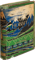 Books:Science Fiction & Fantasy, J. R. R. Tolkien. The Hobbit. Or, There and Back Again. London: George Allen & Unwin Ltd., [1937]. First edition...