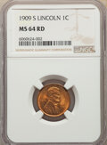 1909-S 1C Lincoln, RD...(PCGS# 2434)