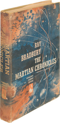 Ray Bradbury. The Martian Chronicles. Garden City: Doubleday & Co., 1950. First edition. Signed and inscribed by t...