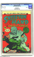 Golden Age (1938-1955):Horror, Skeleton Hand #5 Bethlehem pedigree (ACG, 1953) CGC NM- 9.2Off-white pages. The second to last issue of a short title run. ...