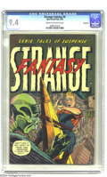 Golden Age (1938-1955):Horror, Strange Fantasy #6 Northford pedigree (Farrell, 1953) CGC NM 9.4Cream to off-white pages. These Ajax-Farrell books sure hav...