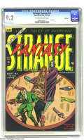 Golden Age (1938-1955):Horror, Strange Fantasy #14 Northford pedigree (Farrell, 1954) CGC NM- 9.2Off-white to white pages. The last issue of this creepy t...