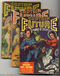 Pulps:Science Fiction, Captain Future Group (Better Publications, 1940-44). CaptainFuture, the Wizard of Science was raised on the moon from child...(Total: 11 items Item)