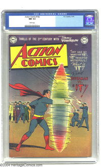 Action Comics #162 (DC, 1951) CGC NM 9.4 White pages. Sci-fi movies were the rage in the early 1950s, and DC milked the...