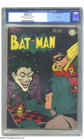Golden Age (1938-1955):Superhero, Batman #23 (DC, 1944) CGC VF/NM 9.0 Off-white to white pages. That Clown Prince of Crime, that Laughing Lord of Lawlessness,...