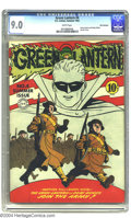 Golden Age (1938-1955):Superhero, Green Lantern #4 San Francisco pedigree (DC, 1942) CGC VF/NM 9.0 White pages. Green Lantern and his buddy Doiby Dickles join...