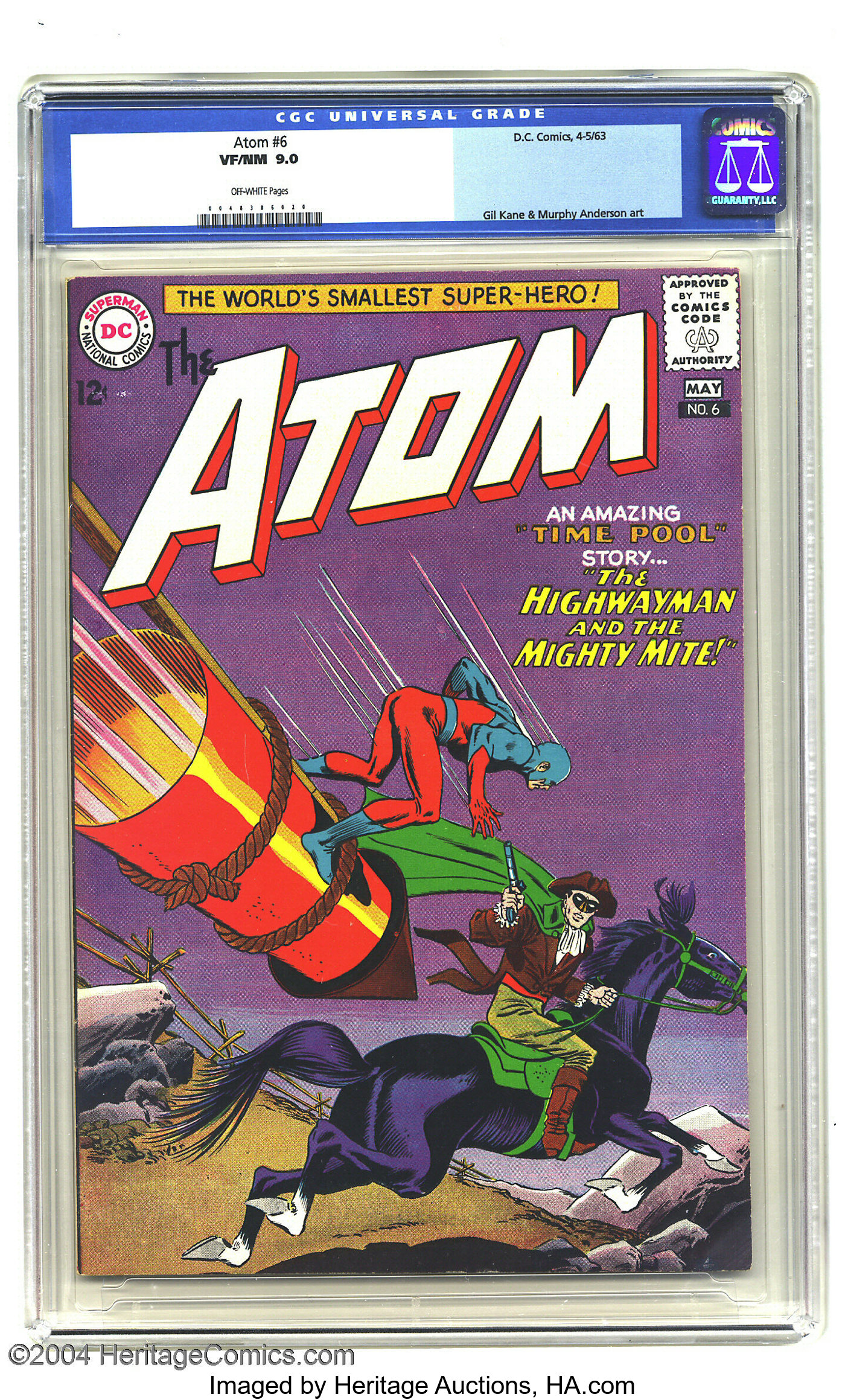 THE MIGHTY #6 OF 12 VF//NM DC COMICS