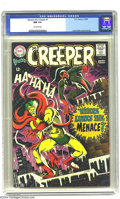 Silver Age (1956-1969):Superhero, Beware the Creeper #1 (DC, 1968) CGC NM 9.4 Off-white pages. This is a classic cover by Steve Ditko, and an early appearance...
