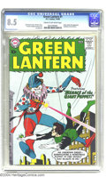 Silver Age (1956-1969):Superhero, Green Lantern #1 (DC, 1960) CGC VF+ 8.5 Cream to off-white pages.DC was certainly on a roll back in 1960, when this Silver ...
