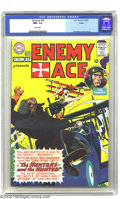 Silver Age (1956-1969):War, Showcase #58 Boston pedigree (DC, 1965) CGC NM+ 9.6 White pages. Any Joe Kubert fan will go weak in the knees upon laying ey...