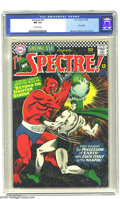 Silver Age (1956-1969):Horror, Showcase #61 The Spectre (DC, 1966) CGC NM 9.4 Off-white pages.There's Earth-shattering action and more in this great issue...