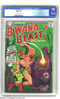 Showcase #66 (DC, 1967) CGC NM+ 9.6 Off-white to white pages. Mike Sekowsky art. If you enjoyed B'wana Beast in his 1980...