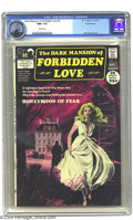 Bronze Age (1970-1979):Romance, Dark Mansion of Forbidden Love #2 Pacific Coast pedigree (DC, 1971)CGC NM+ 9.6 White pages. DC's ambitious marriage of the ...