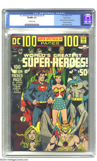 DC 100-Page Super Spectacular #6 World's Greatest Super-Heroes! - Pacific Coast pedigree (DC, 1971) CGC VF/NM 9.0 Off-wh...