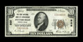 National Bank Notes:Pennsylvania, Pittsburgh, PA - $10 1929 Ty. 1 The First NB of Birmingham Ch. #926. ...