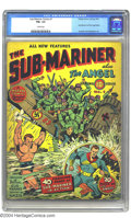 Golden Age (1938-1955):Superhero, Sub-Mariner Comics #1 (Timely, 1941) CGC FN+ 6.5 Cream pages. Currently tied with three other Golden Age issues at 21st plac...