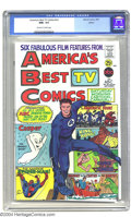 America's Best TV Comics #1 Boston pedigree (Marvel, 1967) CGC NM+ 9.6 Off-white to white pages. This was a joint produc...