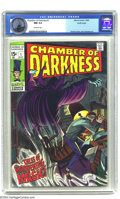 Silver Age (1956-1969):Horror, Chamber of Darkness #1 Pacific Coast pedigree (Marvel, 1969) CGC NM9.4 Off-white pages. John Romita Sr. cover. John Buscema...