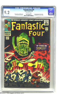 Fantastic Four #49 (Marvel, 1966) CGC NM- 9.2 Off-white pages. This was the first cover appearance (and second appearanc...