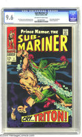 Silver Age (1956-1969):Superhero, The Sub-Mariner #2 (Marvel, 1968) CGC NM+ 9.6 Off-white to white pages. John Buscema art. Overstreet 2003 NM 9.4 value = $90...