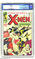 X-Men #1 (Marvel, 1963) CGC VF+ 8.5 Off-white pages. After the dust had started to settle from the first stampede of Mar...
