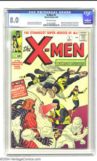 X-Men #1 (Marvel, 1963) CGC VF 8.0 Off-white pages. After the dust had started to settle from the first stampede of Marv...