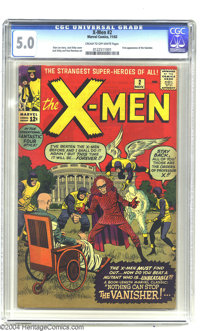 X-Men #2 (Marvel, 1963) CGC VG/FN 5.0 Cream to off-white pages. The second issue of Marvel's Merry Mutants' own title fe...