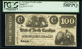 Raleigh, NC- State of North Carolina $100 Jan. 8, 1862 Cr. 74-2 PCGS Choice About New 58PPQ