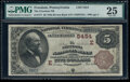 Fr. 713 $1 1918 Federal Reserve Bank Note PMG Very Fine 30
