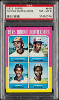 Baseball Cards:Singles (1970-Now), 1975 Topps Jim Rice - Rookie Outfielders #616 PSA NM-MT 8. ...