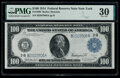 Fr. 1090 $100 1914 Federal Reserve Note PMG Very Fine 30