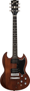 Musical Instruments:Electric Guitars, 1980 Gibson SG Walnut Solid Body Electric Guitar, Serial #80250089.. ...