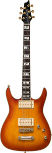 Musical Instruments:Electric Guitars, 1990's Ibanez Sunburst Solid Body Electric Guitar, Serial #S94011054.. ...
