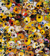 Takashi Murakami (b. 1962) MGST, 1962-2011, 2011 Offset lithograph in colors on smooth wove paper