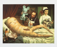 Mark Ryden (b. 1963) The Birth, early 21st century Giclee in colors on wove paper 24 x 29 inches (61 x 73.7 cm) (shee