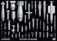 Ai Weiwei (b. 1957) History of Bombs, 2020 Offset lithograph in colors on paper 19-5/8 x 27-1/2 inches (49.8 x 69.9 c