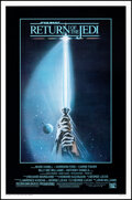 """Movie Posters:Science Fiction, Return of the Jedi (20th Century Fox, 1983). Rolled, Very Fine-. One Sheet (27"""" X 41"""") SS Style A, Trim Reamer Artwor..."""
