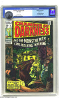 Bronze Age (1970-1979):Horror, Chamber of Darkness #4 Pacific Coast pedigree (Marvel, 1970) CGC NM9.4 Off-white pages. Conan-like character by Barry Winds...
