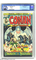 Bronze Age (1970-1979):Superhero, Conan The Barbarian #22 Pacific Coast pedigree (Marvel, 1973) CGC NM+ 9.6 Off-white pages. Reprints story from issue #1. Bar...