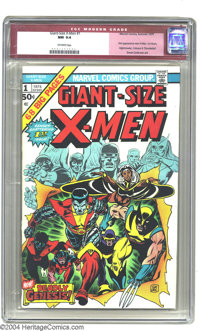 Giant-Size X-Men #1 (Marvel, 1975) CGC NM 9.4 Off-white pages. The Bronze Age of comics begins with this fantastic issue...