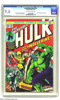 Bronze Age (1970-1979):Superhero, The Incredible Hulk #181 (Marvel, 1974) CGC NM+ 9.6 Off-white to white pages. The hottest Bronze Age comic book of all has W...