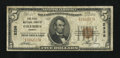 National Bank Notes:Georgia, Columbus, GA - $5 1929 Ty. 1 The First NB Ch. # 2338. ...